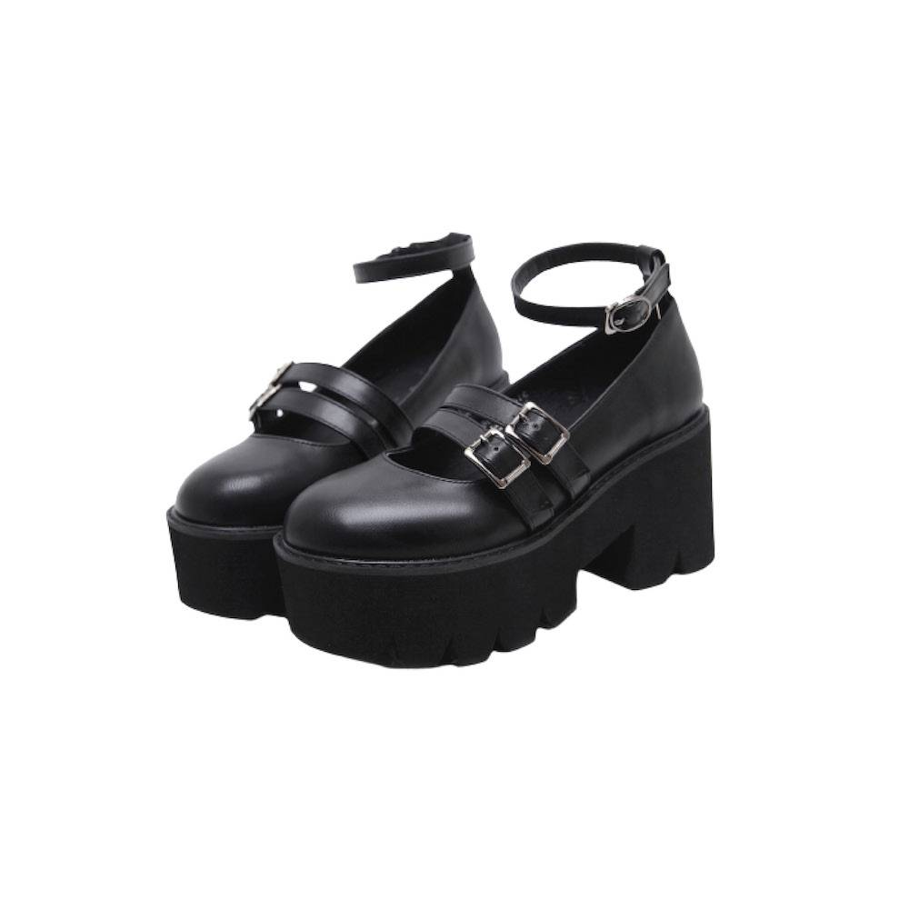 Mary Kate Platforms - Black